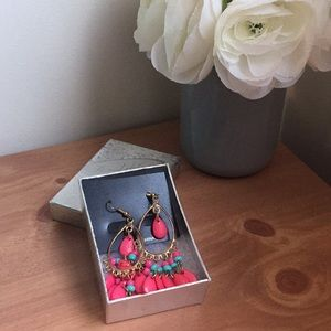 Jewelry - Pink Coral Earrings